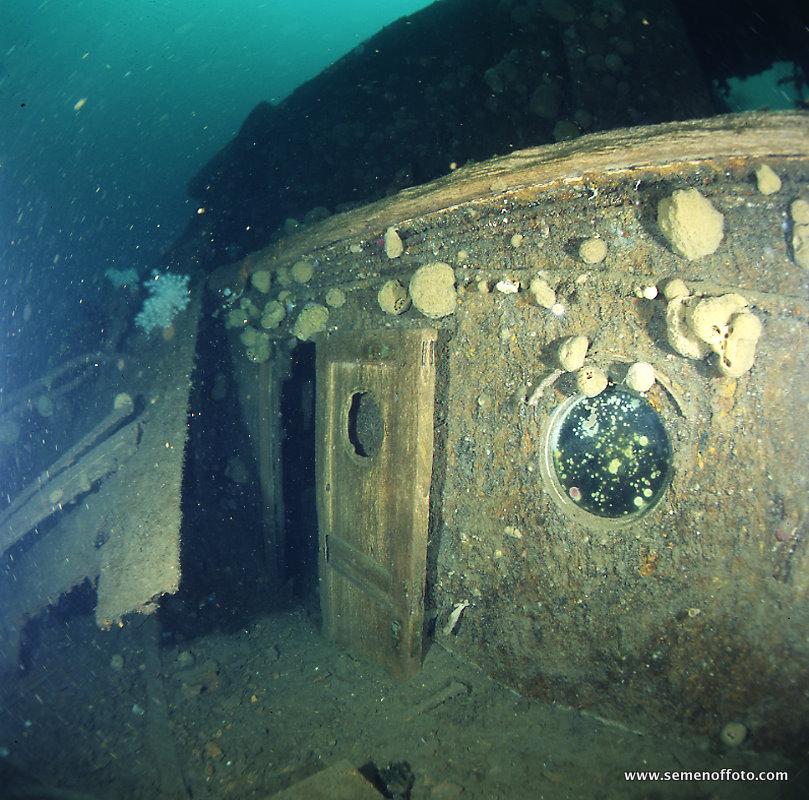 Затонувшие объекты ладожского озера